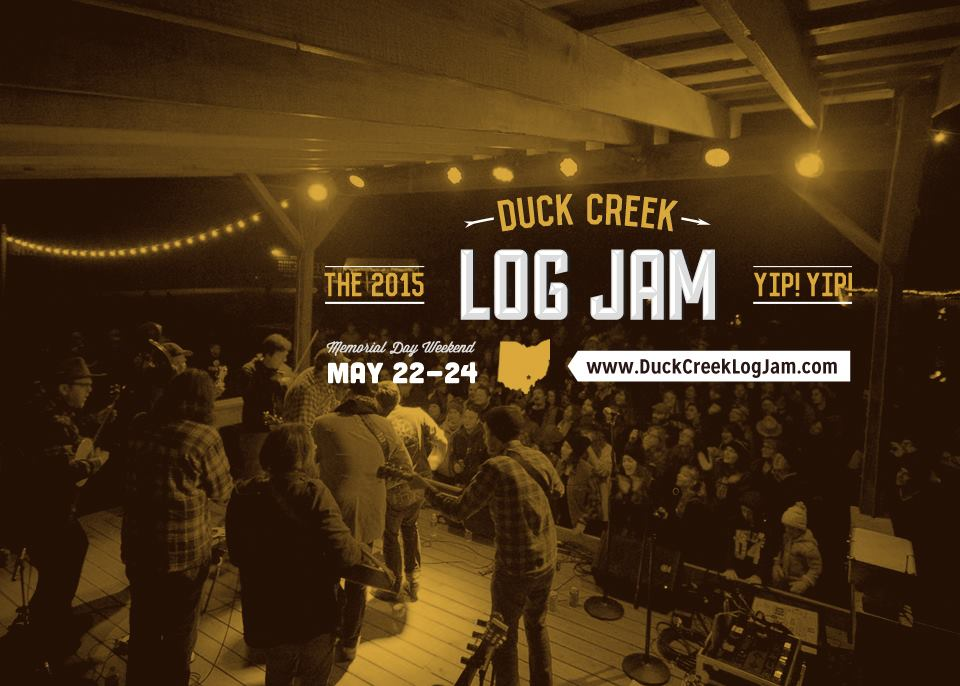 2015 Music Festivals: The Duck Creek Log Jam.