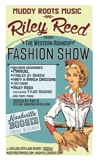 Nashville Boogie Weekend Side Article: Riley Reed Western Roundup Fashion Show.