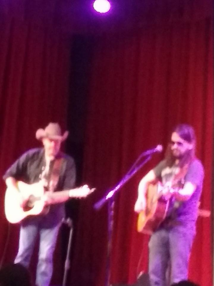 Shooter Jennings And Jason Boland Acoustic Show.
