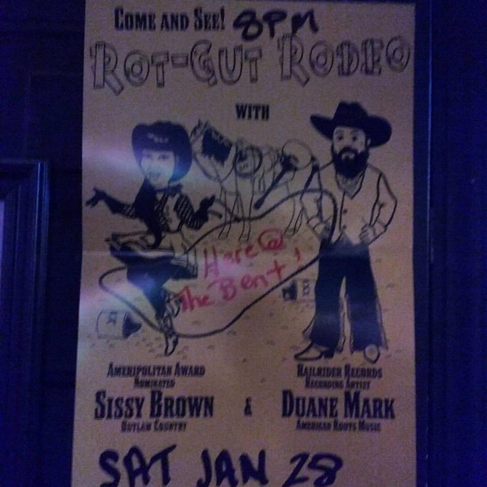 Sissy Brown And Duane Mark In Tennessee: Rot Gut Rodeo.