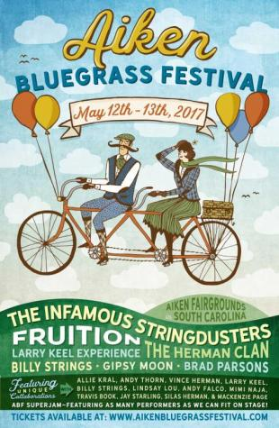 2017 Music Festivals: Aiken Bluegrass Festival.