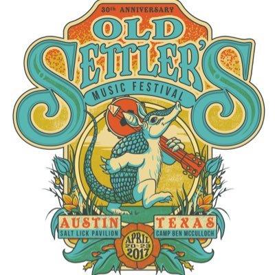 2017 Music Festivals: Old Settler's Festival.