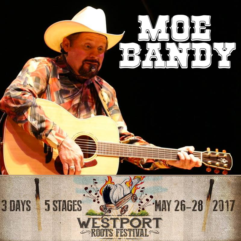Westport Roots Festival Side Article: Interview With Moe Bandy.