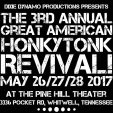 2017 Music Festivals: The Great American Honky Tonk Tent Revival.