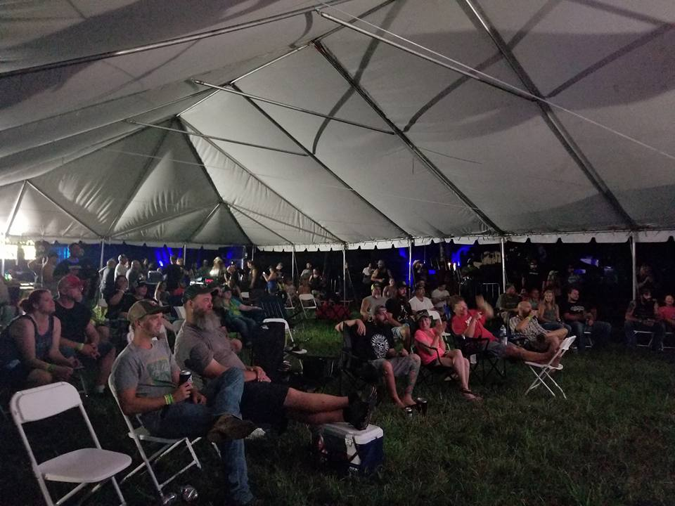 Thursday night transpired in a large tent called the C&ing Stage and also dubbed the Late Night Stage. This was readily convenient for my crew as she ... & Tumbleweed Day 1. The Fear Of Cancellation.