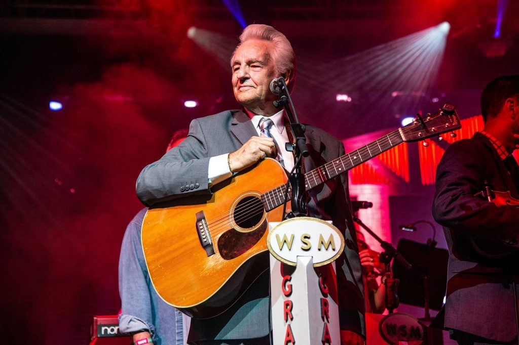 He recently celebrated his birthday as he took over the Grand Old Opry HERE  IS WHERE you can go read about his 80th birthday there.